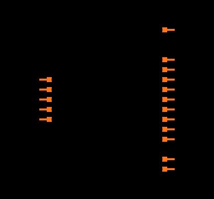 SN74HC595BRWNR Symbol