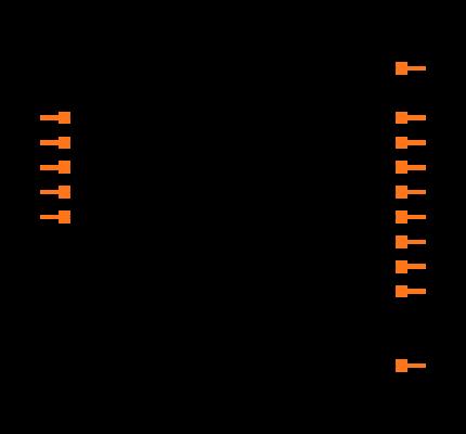 SN74HC595DR Symbol