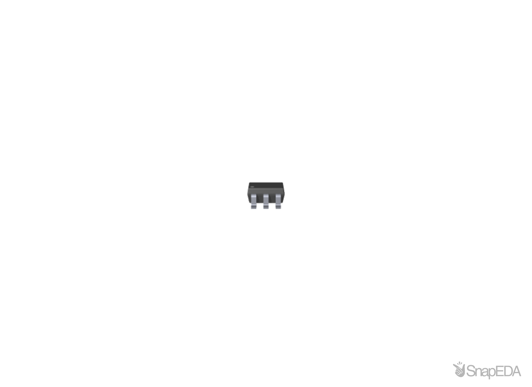SN74LV1T34DBVR 3D Model