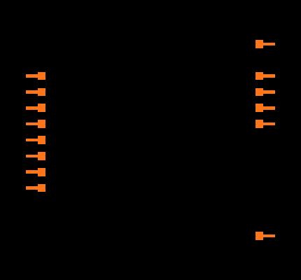 SN74LV4T125PWR Symbol