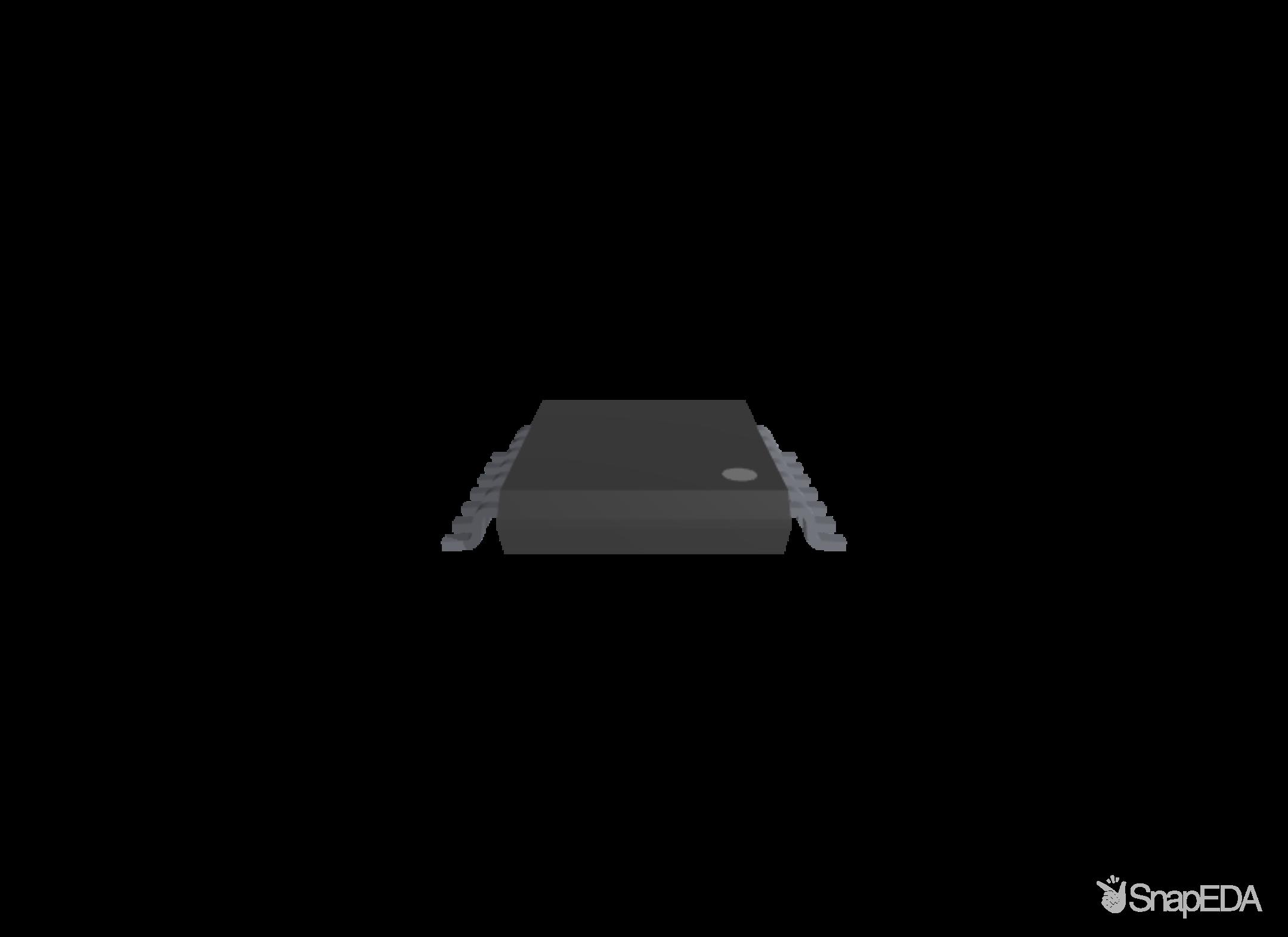 SN74LVC08APWR 3D Model
