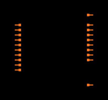 SN74LVC574APWR Symbol