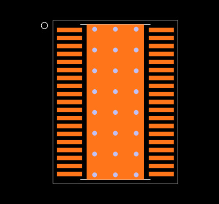 TIC12400DCPR Footprint