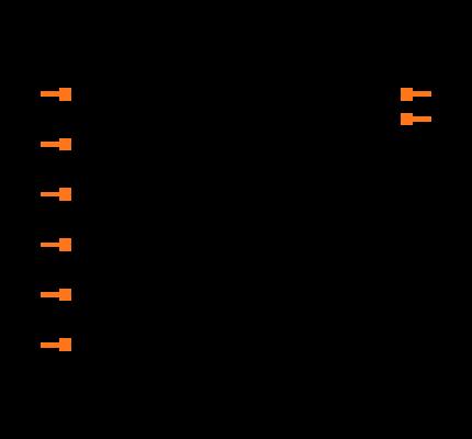 TLC555 footprint & symbol by Texas Instruments | SnapEDA