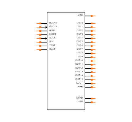 TLC59401PWPR Symbol