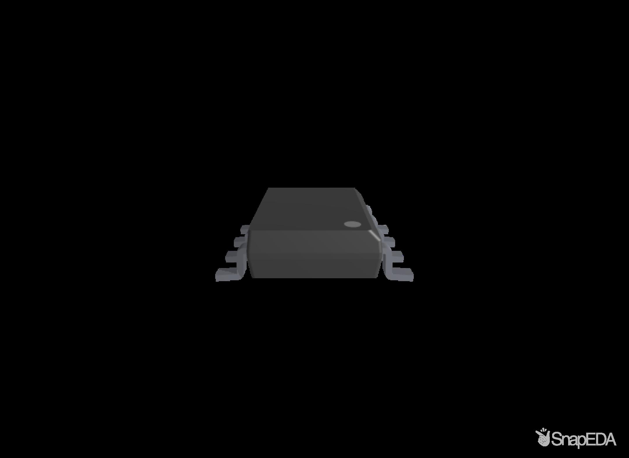 TLV9002IDR 3D Model