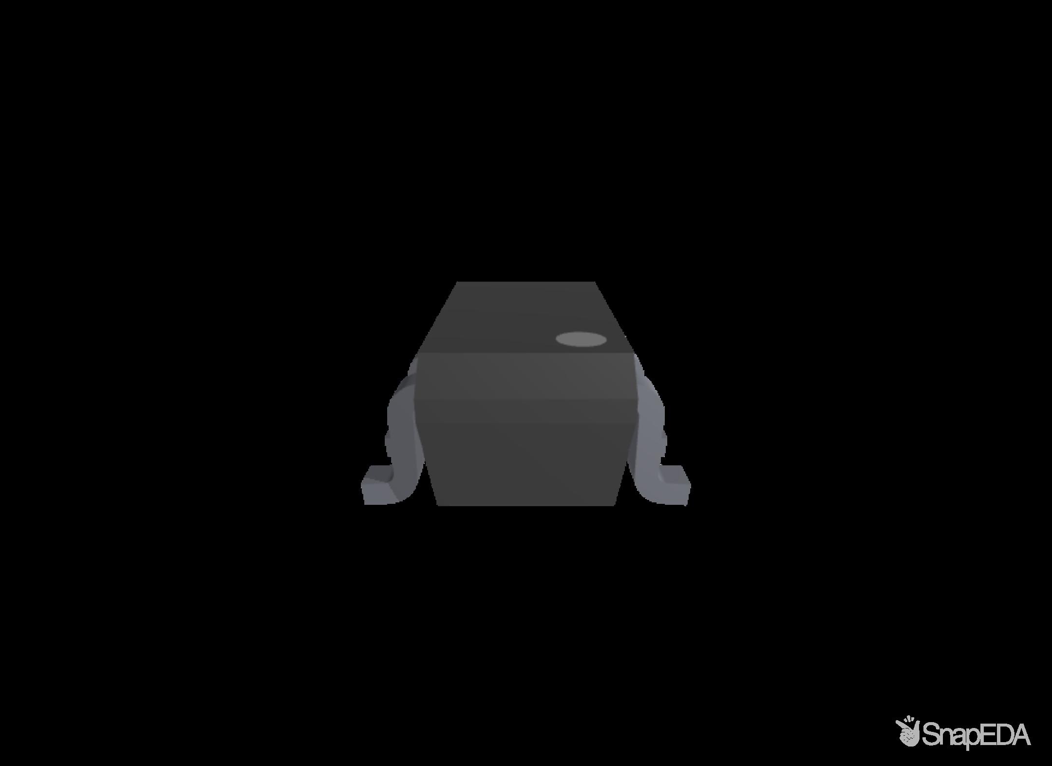 TPD4E1B06DCKR 3D Model