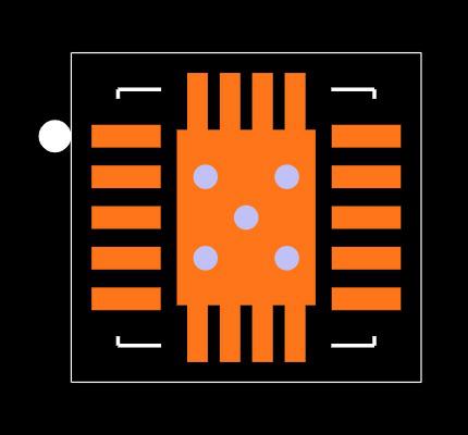 TPS63060DSCR Footprint