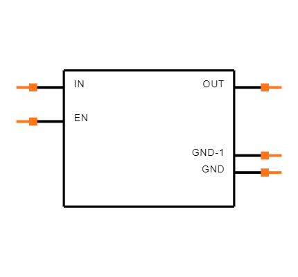 TPS78225DDCR Symbol