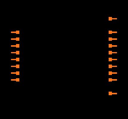 ULN2803ADWRG4 Symbol