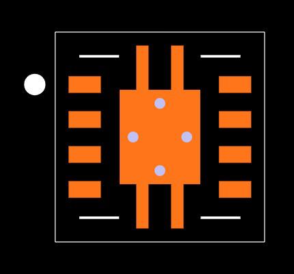 XTR117AIDRBT Footprint