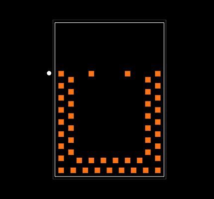BMD-301-A-R Footprint