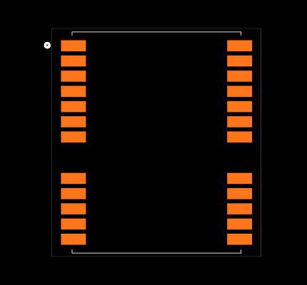 NEO-M8P-2 Footprint