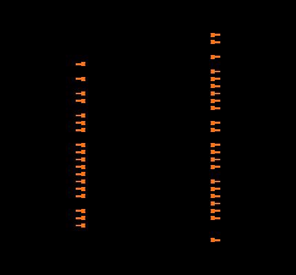 SARA-R410M-01B footprint & symbol by U-Blox America Inc