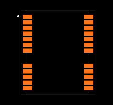 NEO-7N-0-522 Footprint