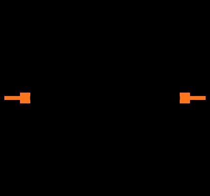 CRCW0201100KFKED Symbol