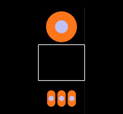 IRF530PBF Footprint