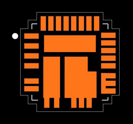 SIC461ED-T1-GE3 Footprint
