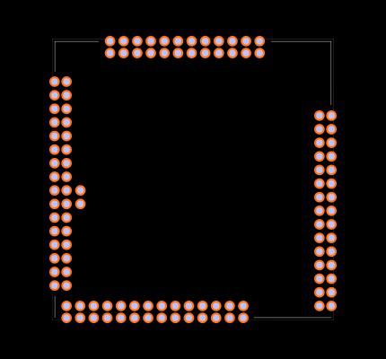 VoCore2 Footprint