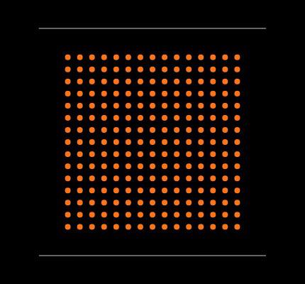 XC7Z007S-1CLG225I Footprint