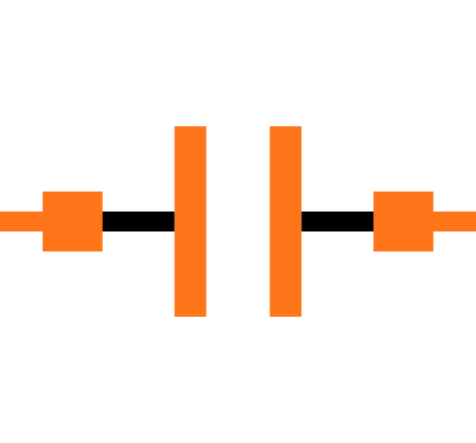 CC0402BRNPO9BN2R7 Symbol
