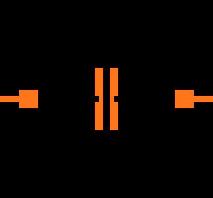 CC0402CRNPO9BN1R2 Symbol