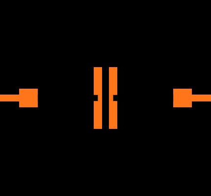 CC0402KRX7R7BB102 Symbol