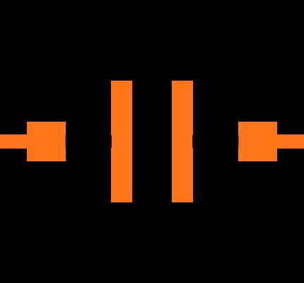 CC0402KRX7R7BB104 Symbol