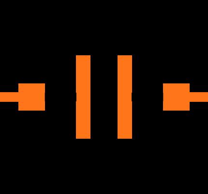 CC0402KRX7R8BB562 Symbol