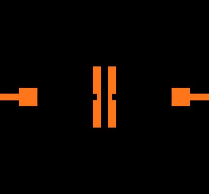 CC0402KRX7R9BB101 Symbol