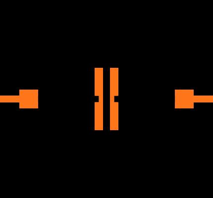 CC0402KRX7R9BB152 Symbol