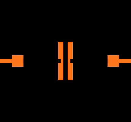 CC0402KRX7R9BB222 Symbol