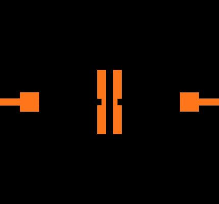 CC0402KRX7R9BB272 Symbol