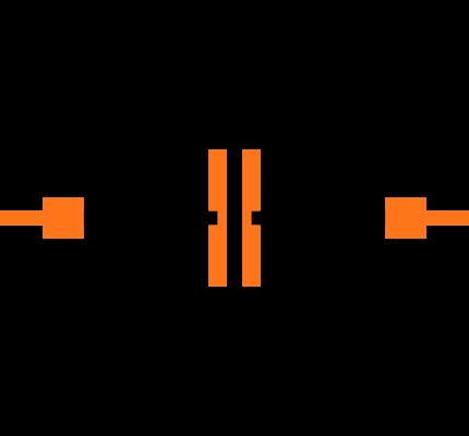 CC0402KRX7R9BB391 Symbol