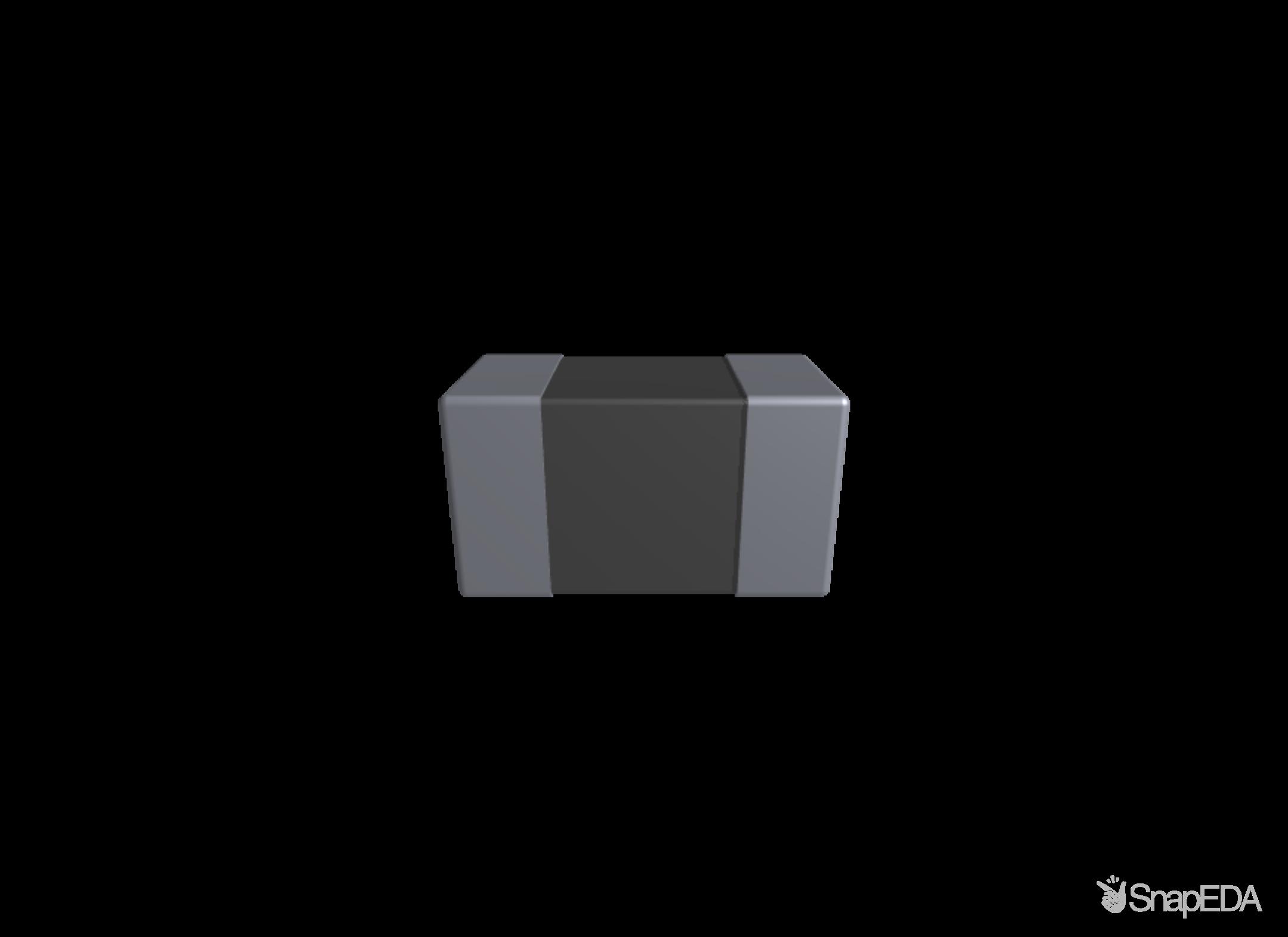 CC0603JRNPO9BN101 3D Model
