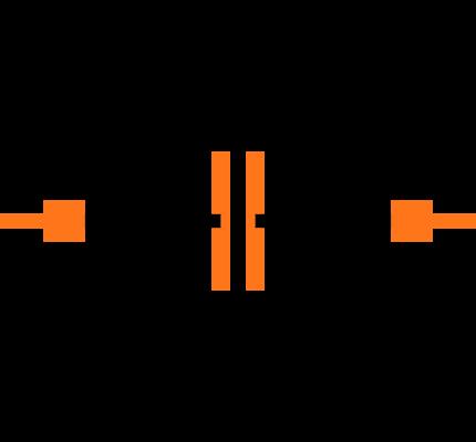 CC0603JRNPO9BN331 Symbol