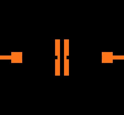 CC0603KRX7R8BB104 Symbol