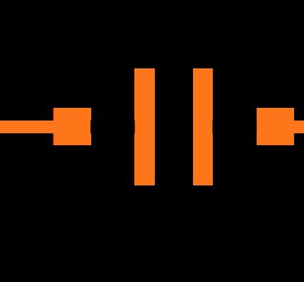 CC0603ZRY5V7BB334 Symbol