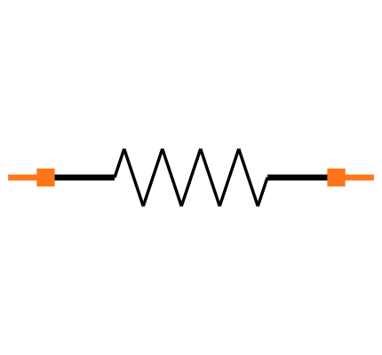 RC0603FR-0710RL Symbol