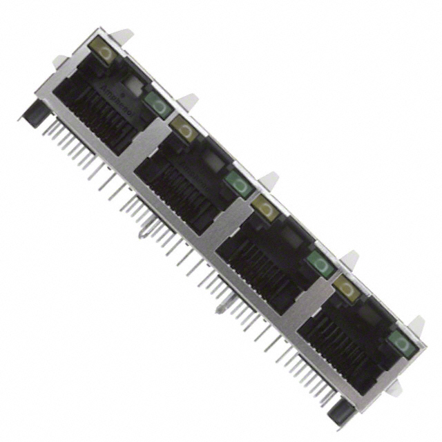 Connectors Modular Connectors RJHSE-5381-04 by Amphenol Commercial Products