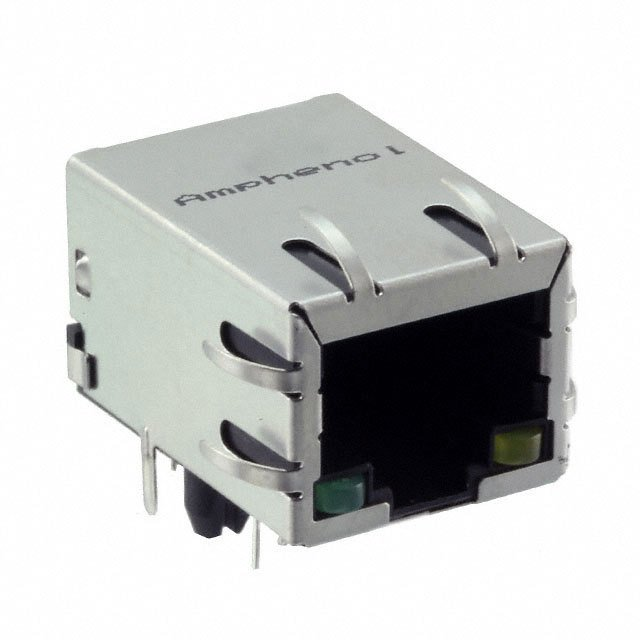 Connectors Modular Connectors Modular, Plugs & Jacks RJMG1BD3B8K1ANR by Amphenol FCI