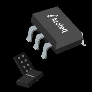 Semiconductors Sensors Capacitive Touch Sensors IQS211A-00000000-TSR by Azoteq (Pty) Ltd