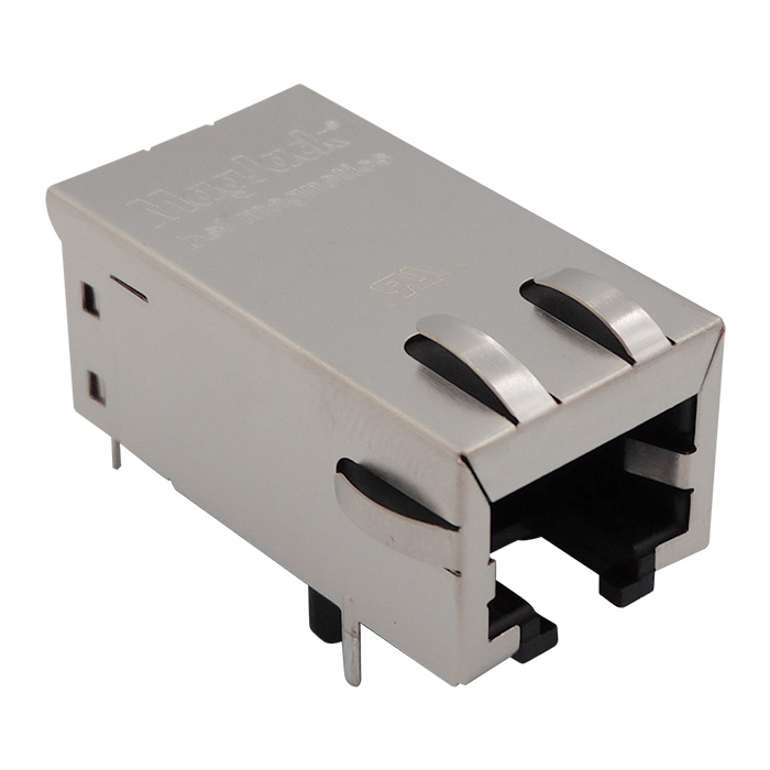 Connectors Modular Connectors Modular, Plugs & Jacks 0813-1X1T-57-F by Bel Magnetic Solutions