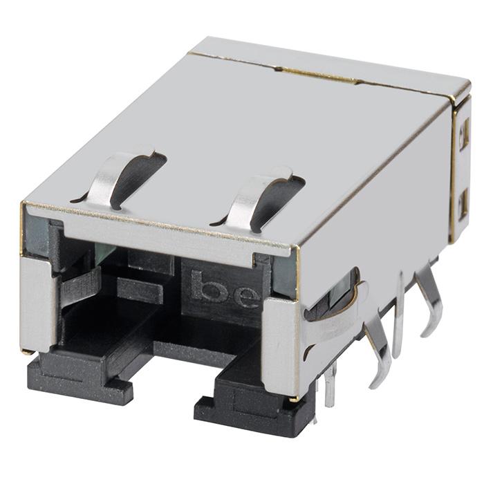 Connectors Modular Connectors L834-1G1T-91 by Bel Fuse Inc.