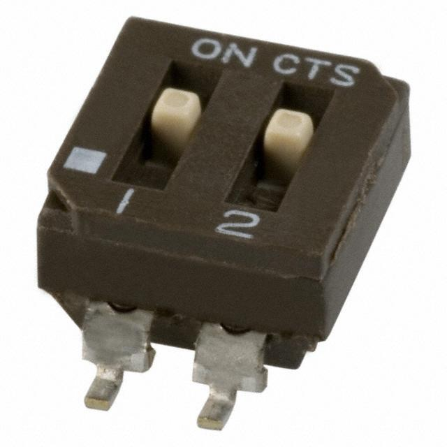 Industrial Control Switches DIP - SIP 219-2MSTR by CTS Electrocomponents