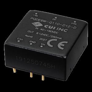 Power Products Voltage Converters, Inverters, Transformers DC-DC Converters PQDE6W-Q110-D12-D by CUI Inc.