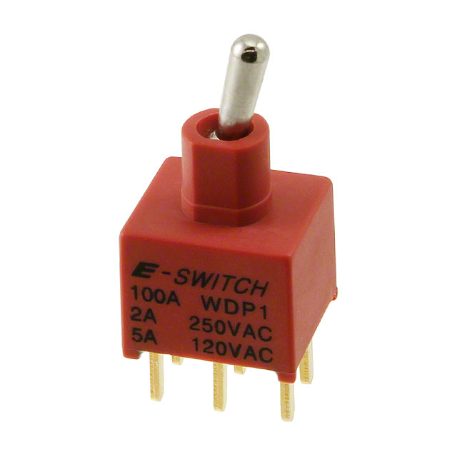Industrial Control Switches Toggle 100AWDP1T2B4M2QE by E-Switch
