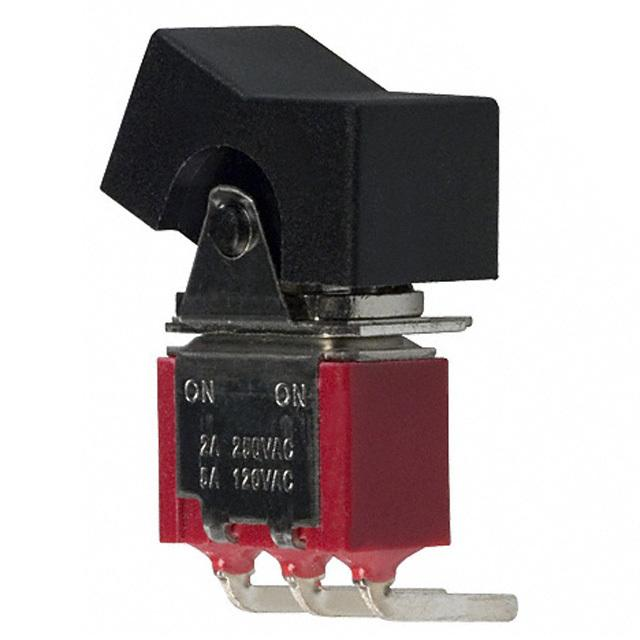Industrial Control Switches Rocker-Paddle 300SP1J1BLKM6QE by E-Switch