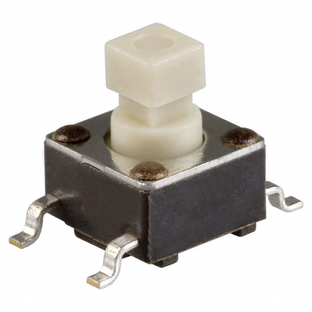 Industrial Control Switches Tactile - Jog TL3301SPF260QG by E-Switch