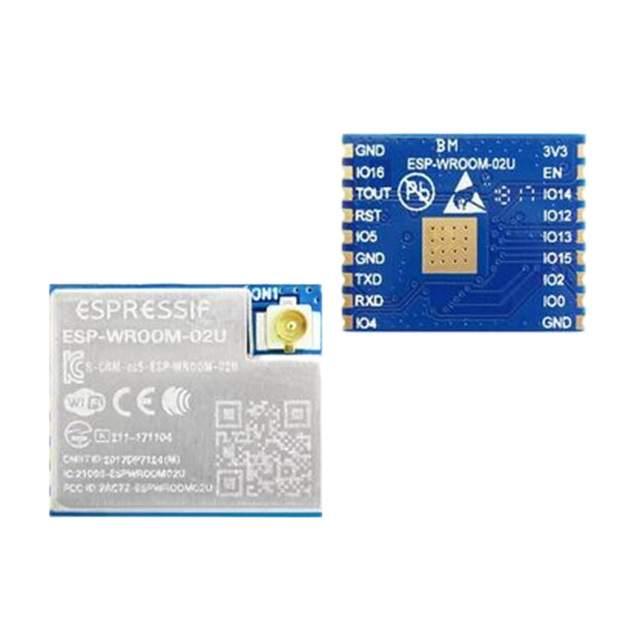 Image of ESP-WROOM-02U by Espressif Systems
